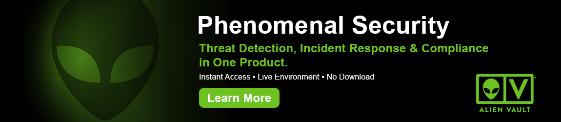 AlienVault - Phenomenal Security - Threat Detection, Incident Response & Compliance in One Product